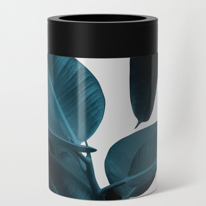 Indigo Blue Plant Leaves Can Cooler