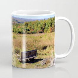 View From a Bench Coffee Mug