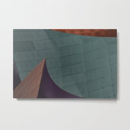Architectural abstract of the home of the LA Philharmonic. Architect: Frank Gehry Metal Print