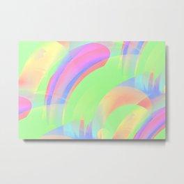 Experimental light Metal Print
