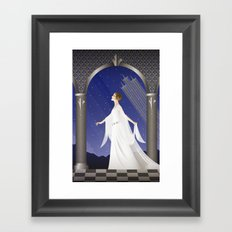 Deco Leia (12x18) Framed Art Print