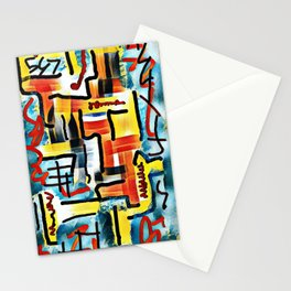 Abstract #15 Stationery Cards