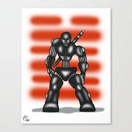 Robot Series - Snake-Eyes Model Canvas Print
