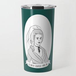 Elizabeth Schuyler Hamilton Illustrated Portrait Travel Mug