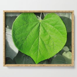 Nature Heart Serving Tray
