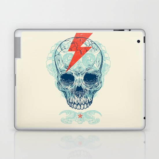 Skull Bolt Laptop & iPad Skin