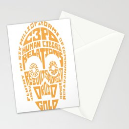 C-3PO Quotes Stationery Cards
