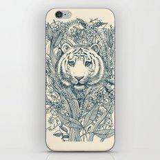Tiger Tangle iPhone Skin