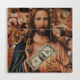 Jesus loves sex Wood Wall Art