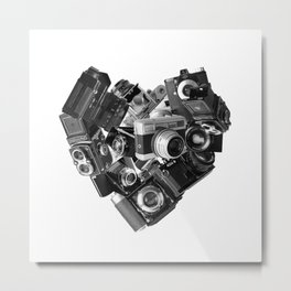 I`m in Love Metal Print