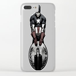 Captain fsociety Clear iPhone Case