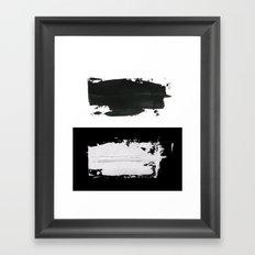 him and her Framed Art Print