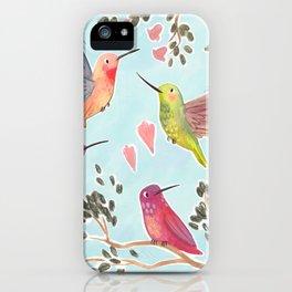 Put a Hummingbird On It iPhone Case