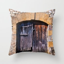 FRENCH MEDIEVAL SOUND Throw Pillow