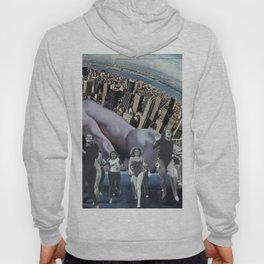 In a New York Minute  - Vintage Collage Hoody