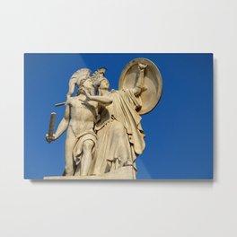 STATUARY - BERLIN Metal Print