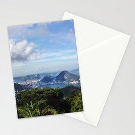 RIO DE JANEIRO THE CITY POSTCARD Stationery Cards
