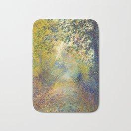 "Auguste Renoir  ""In the Woods"" Bath Mat"