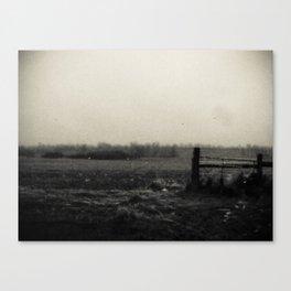 Desolation Fence 3 Canvas Print