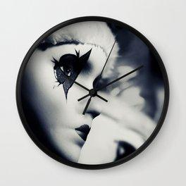 Clown masks Wall Clock