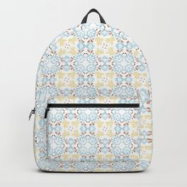 Beige Moroccan Tiles Spanish Tiles Bathroom Tile Decal Cottage Chic Portuguese tiles Backpack