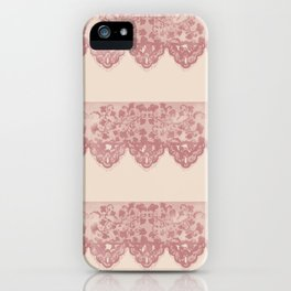 Sweet Lace iPhone Case
