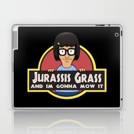 Jurassis Grass (Your ass is grass) Laptop & iPad Skin