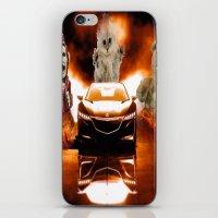 honda iPhone & iPod Skins featuring HONDA NSX,RACING CAR,NIGHTMARE by ira gora