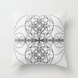 Circle Splendor 7 Throw Pillow