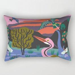 Bird Reserve Rectangular Pillow