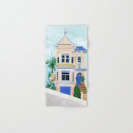Little Victorian House Hand & Bath Towel