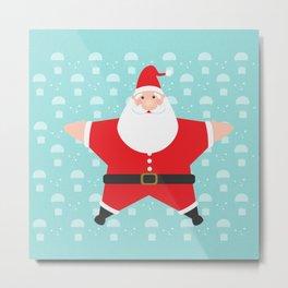 Santa Claus Starmas Metal Print