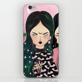 HELL BABES iPhone Skin