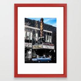The Little Theatre Framed Art Print