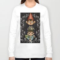 over the garden wall Long Sleeve T-shirts featuring Over the Garden Wall. by toibi