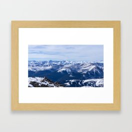 Mt. Bierstadt Summit Framed Art Print