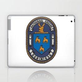 USS NATHANAEL GREENE (SSBN-636) PATCH Laptop & iPad Skin