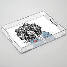 #STUKGIRL ALIANA Acrylic Tray