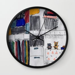 costume changes. Wall Clock