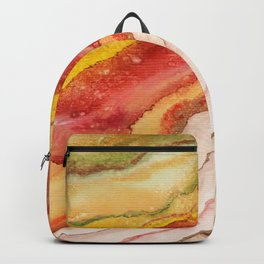 AGATE Inspired Watercolor Abstract 03 Backpack