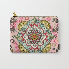 Mandala color pattern Carry-All Pouch