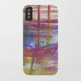 Textural Mountains iPhone Case