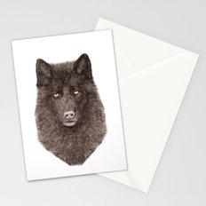Black Wolf Stationery Cards