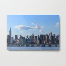 View of Manhattan Metal Print