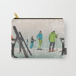 Skiers Summit Carry-All Pouch