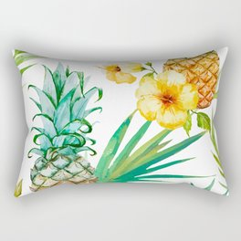 Pineapple Mood Rectangular Pillow