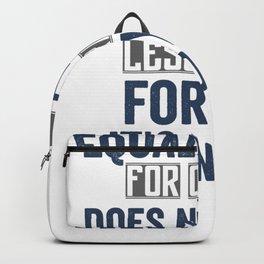 feminism feminism feminists women are human Backpack