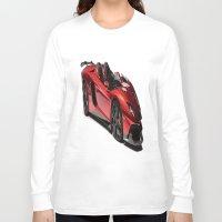 lamborghini Long Sleeve T-shirts featuring Lamborghini Veneno by rosita