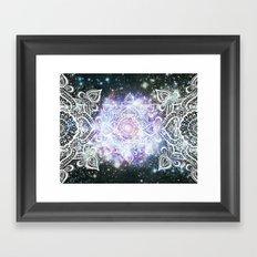 Celestial Mandala Framed Art Print