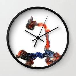 Meditation 1 Wall Clock